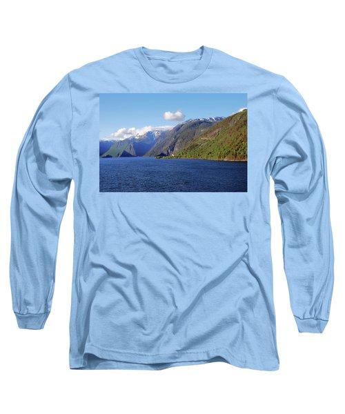 Aurlandsfjord Long Sleeve T-Shirt
