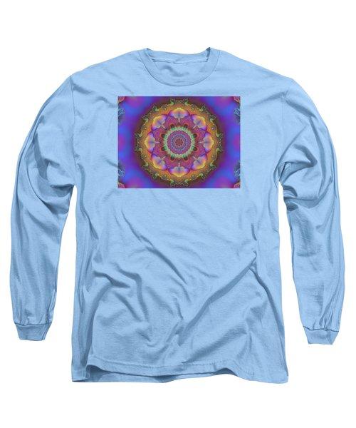 Aurora Graphic 026 Long Sleeve T-Shirt by Larry Capra