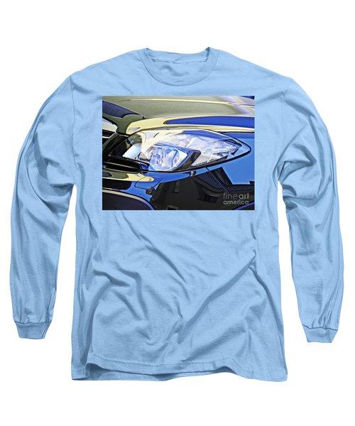 Auto Headlight 191 Long Sleeve T-Shirt by Sarah Loft