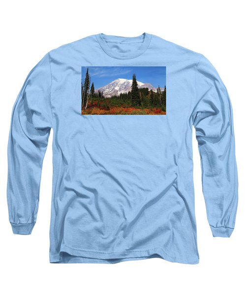 Long Sleeve T-Shirt featuring the photograph Autumn At Paradise by Lynn Hopwood