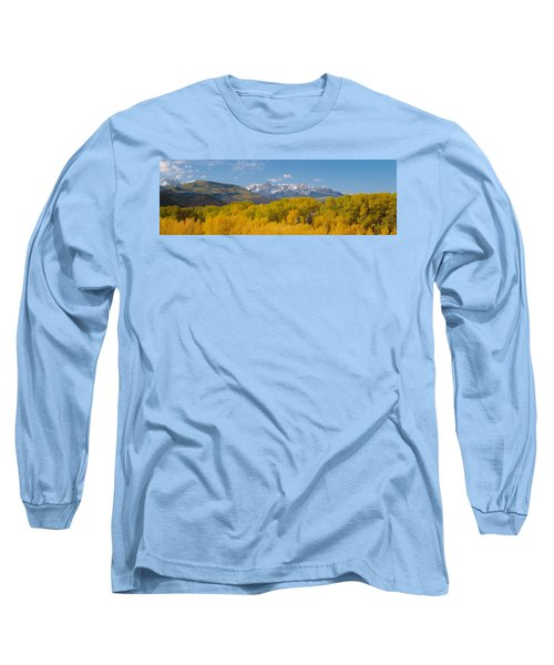 Autumn At Sneffels Mountain Range, San Long Sleeve T-Shirt