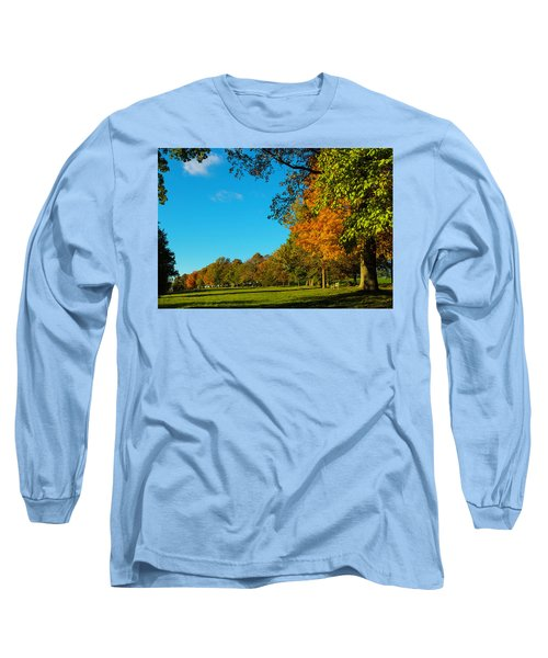 Autumn At World's End Long Sleeve T-Shirt