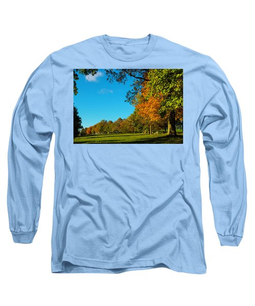 Autumn At World's End Long Sleeve T-Shirt