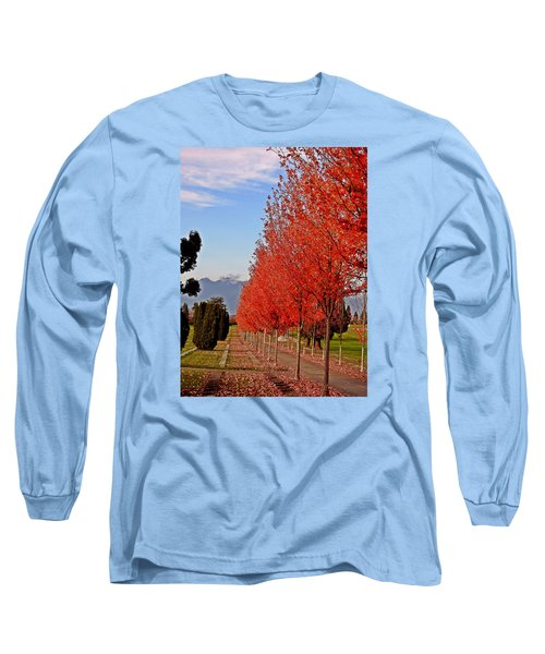 Autumn Delight, Vancouver Long Sleeve T-Shirt by Brian Chase