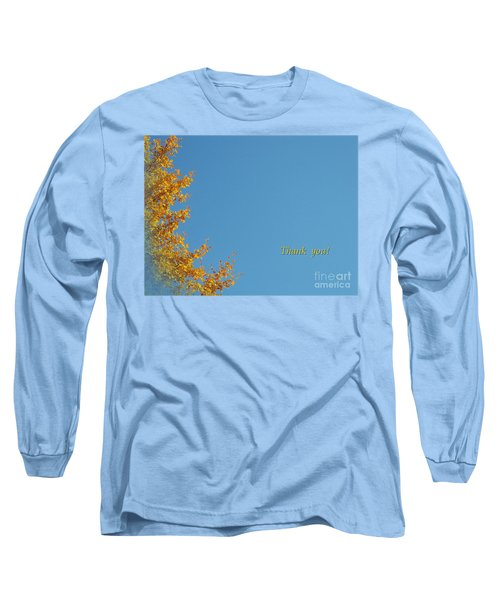 Autumn Ginkgo Tree Long Sleeve T-Shirt