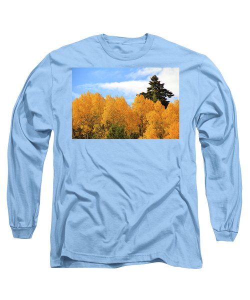Autumn In The Owyhee Mountains Long Sleeve T-Shirt