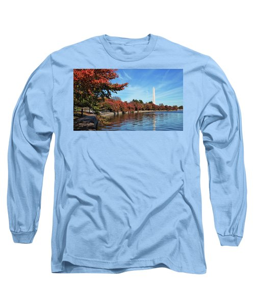 Autumn On Tidal Basin Long Sleeve T-Shirt