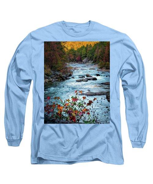 Autumn On Wilson Creek Long Sleeve T-Shirt