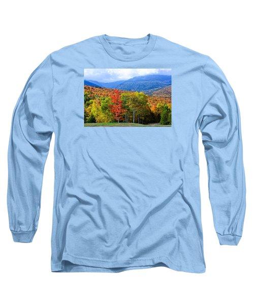 Autumn White Mountains Nh Long Sleeve T-Shirt
