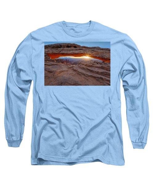 Awakening At Mesa Arch Long Sleeve T-Shirt