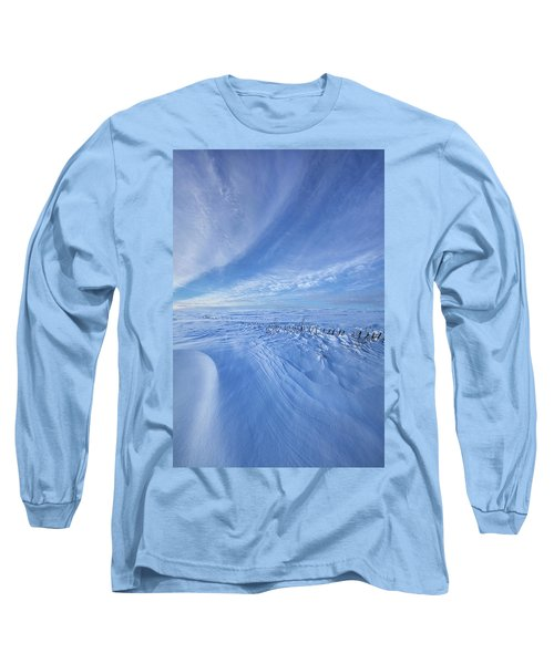 Long Sleeve T-Shirt featuring the photograph Baby It's Cold Outside by Phil Koch