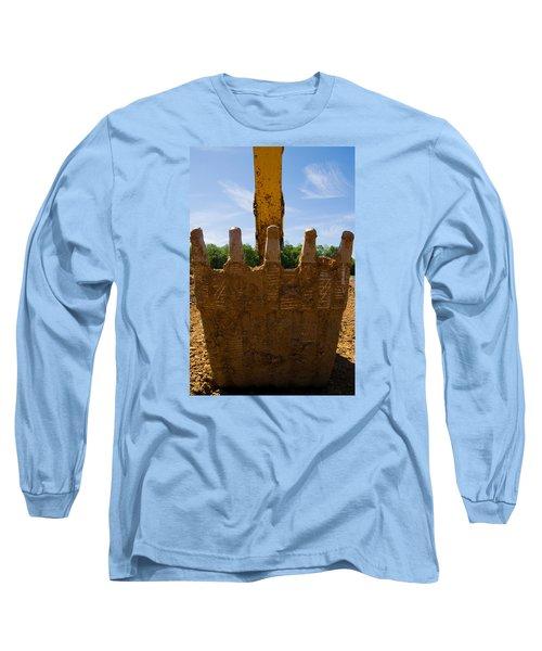 Backhoe Bucket Long Sleeve T-Shirt