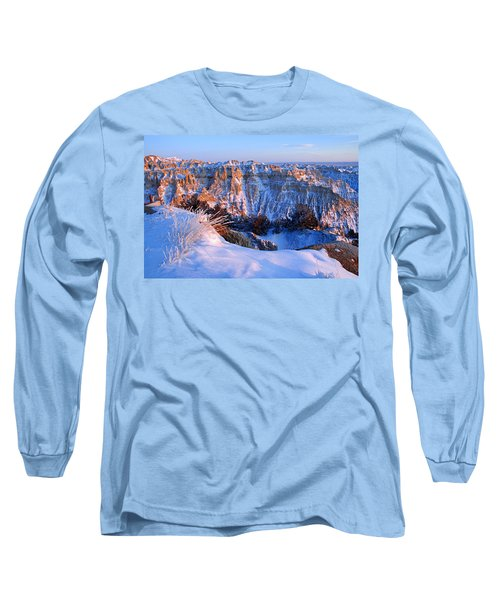 Badlands At Sunset Long Sleeve T-Shirt