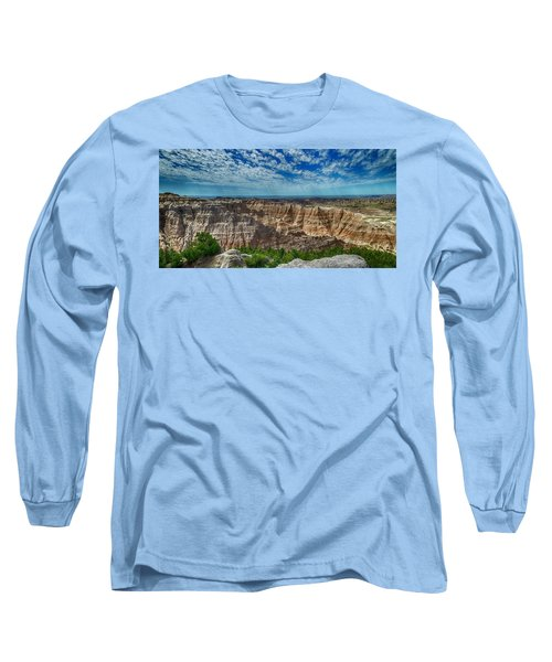 Badlands Landscape Long Sleeve T-Shirt