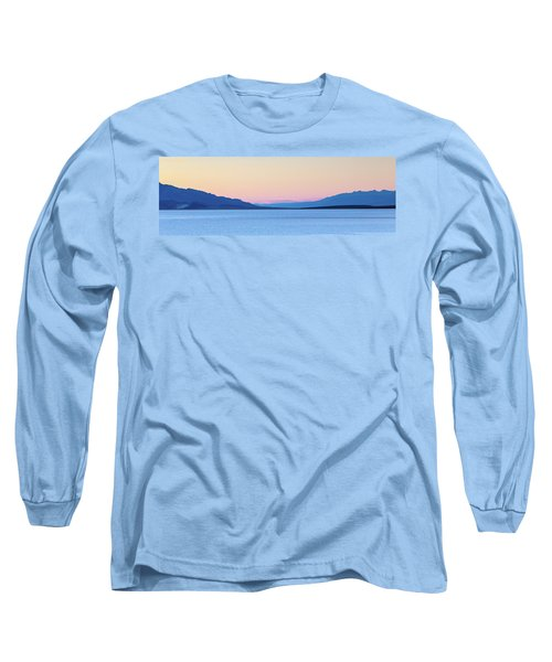 Long Sleeve T-Shirt featuring the photograph Badwater - Death Valley by Peter Tellone
