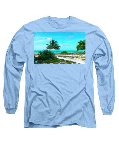 Bahama Beach Photo Long Sleeve T-Shirt