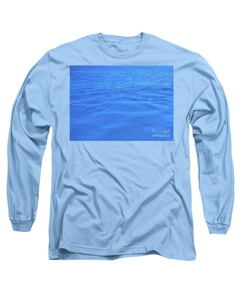 Bahama Blue Long Sleeve T-Shirt