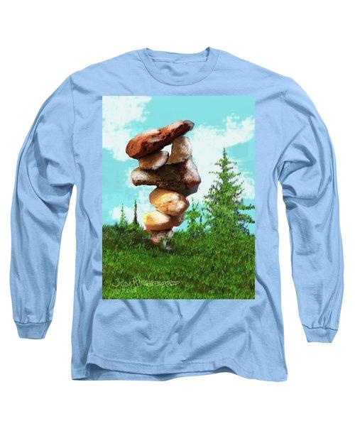 Balanced Rocks #8 Long Sleeve T-Shirt