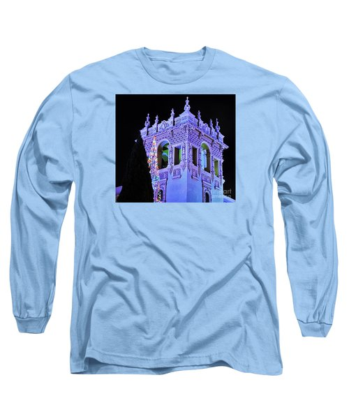 Balboa Park December Nights Celebration Details Long Sleeve T-Shirt by Jasna Gopic
