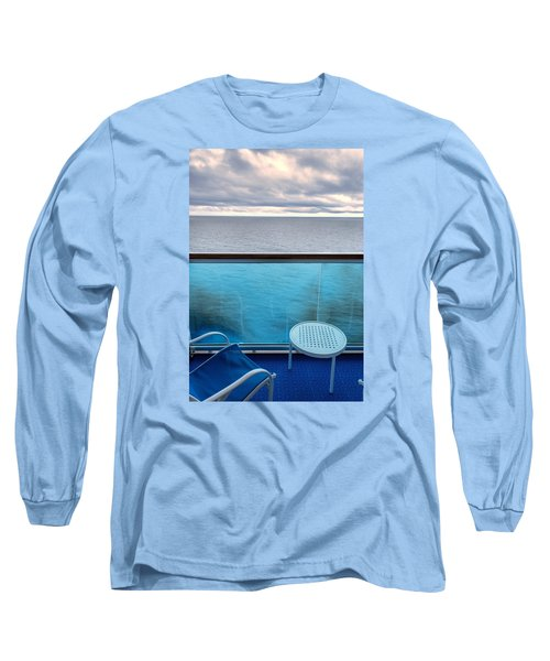 Balcony View Long Sleeve T-Shirt by Lewis Mann