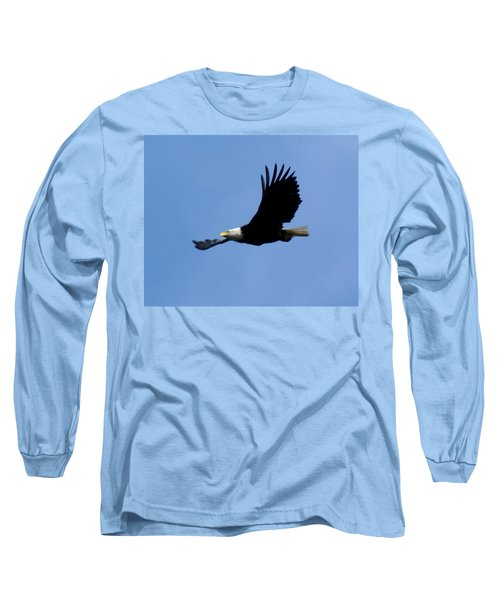 Bald Eagle Soaring High Long Sleeve T-Shirt