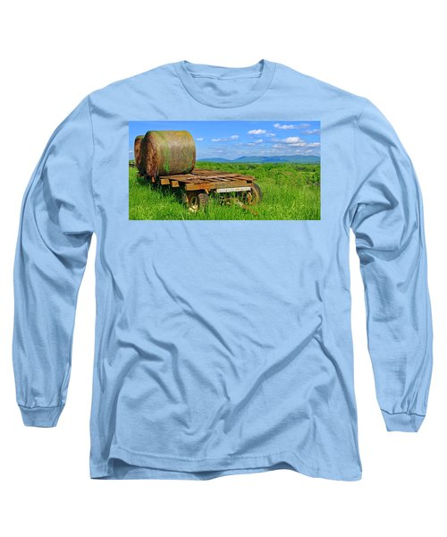 Bales At Rest Long Sleeve T-Shirt
