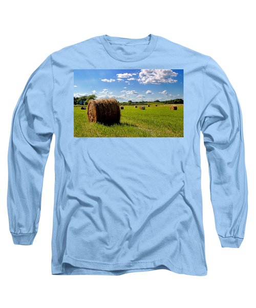 Bales Of Clouds Long Sleeve T-Shirt