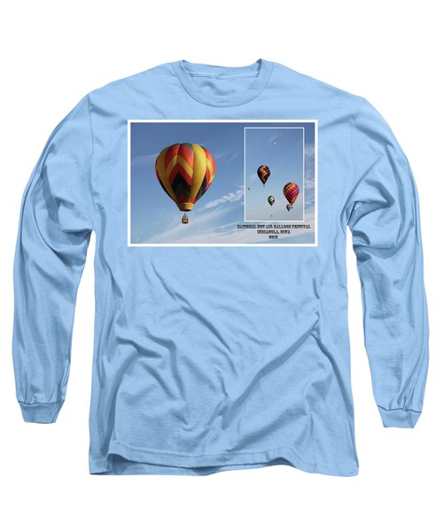 Balloon Festival Indianola, Iowa Long Sleeve T-Shirt
