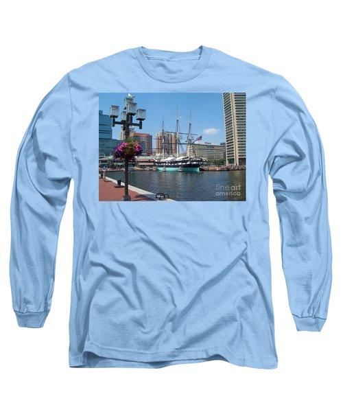 Baltimore Inner Harbor Long Sleeve T-Shirt
