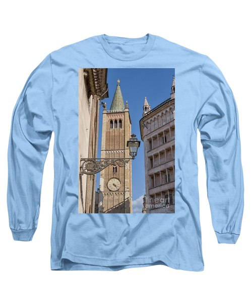 Baptistery And Cathedral In Parma Long Sleeve T-Shirt