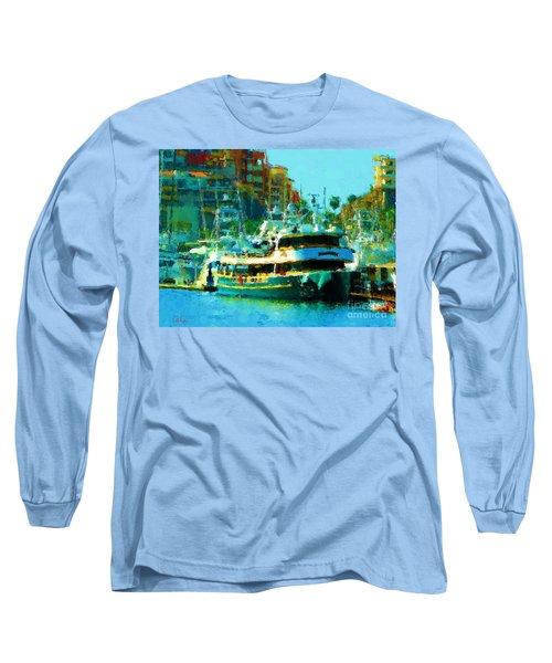 Barco En Cabo Marina II Long Sleeve T-Shirt by Gerhardt Isringhaus