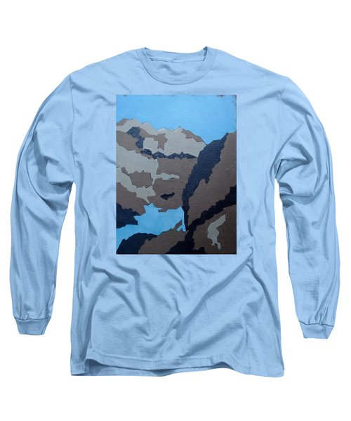 Barker Dam Abstract Long Sleeve T-Shirt