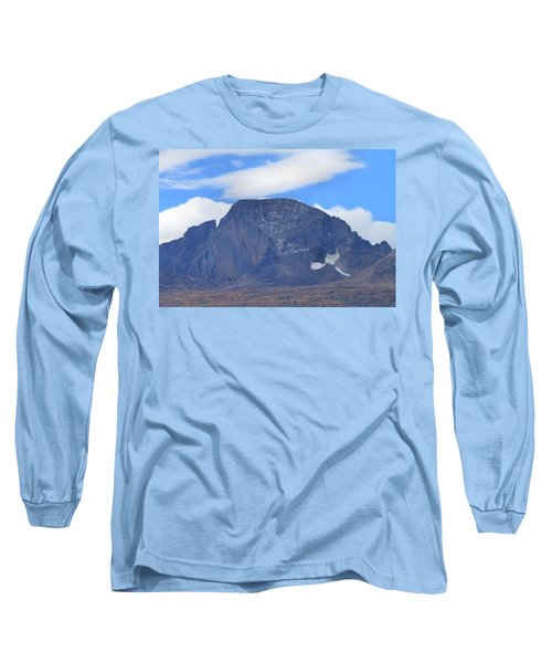Long Sleeve T-Shirt featuring the photograph Barren Mountain Landscape Colorado by Dan Sproul