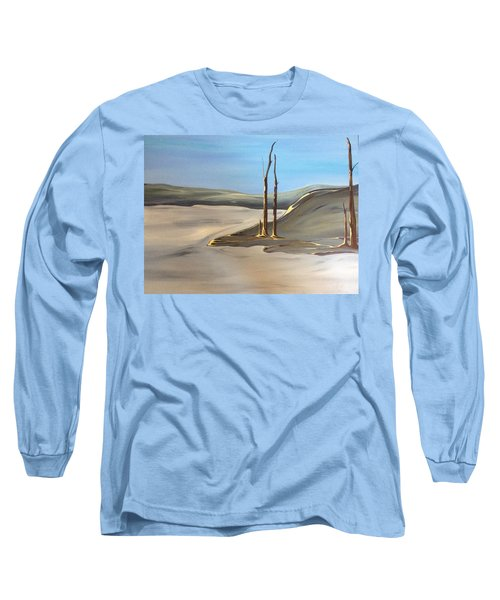 Barren Long Sleeve T-Shirt by Pat Purdy