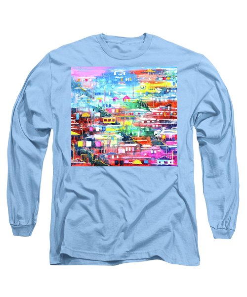 Barrio El Cerro De Yauco Long Sleeve T-Shirt