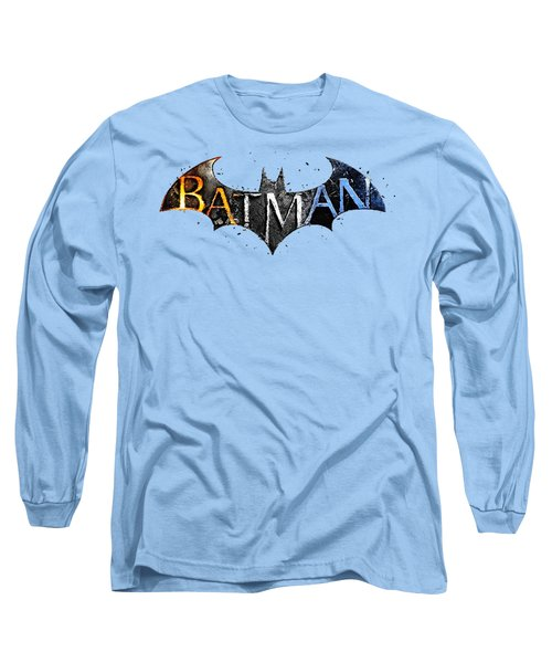 Batman  Long Sleeve T-Shirt by Herb Strobino