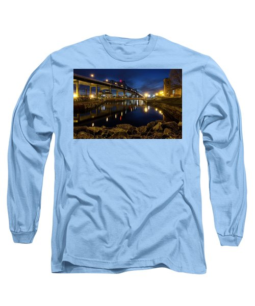 Battleship Cove, Fall River, Ma Long Sleeve T-Shirt
