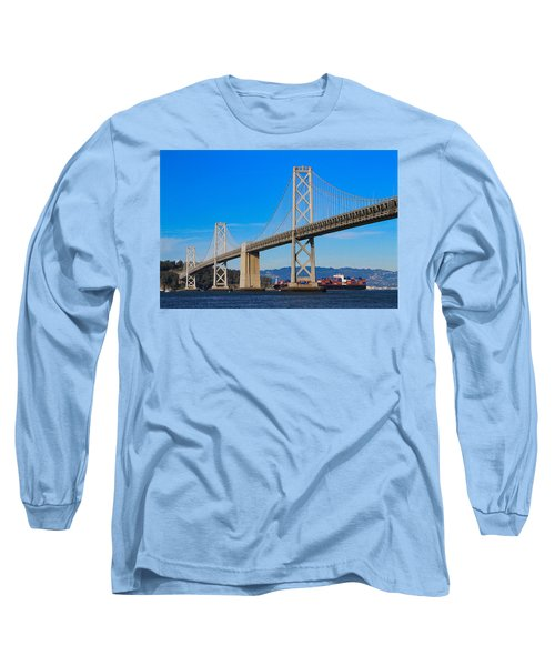 Bay Bridge With Apl Houston Long Sleeve T-Shirt