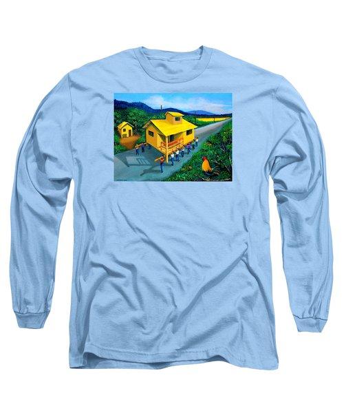 Bayanihan Long Sleeve T-Shirt by Cyril Maza