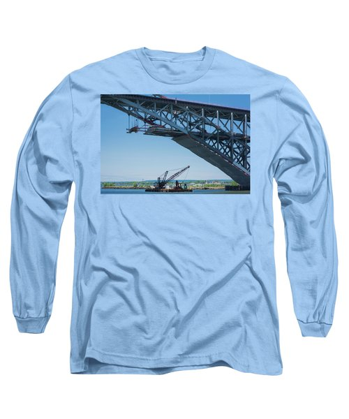 Bayonne Bridge Raising 2 Long Sleeve T-Shirt