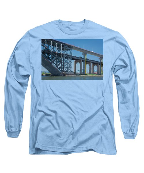 Bayonne Bridge Raising 3 Long Sleeve T-Shirt