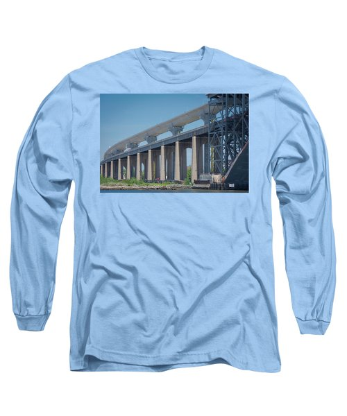 Bayonne Bridge Raising #5 Long Sleeve T-Shirt