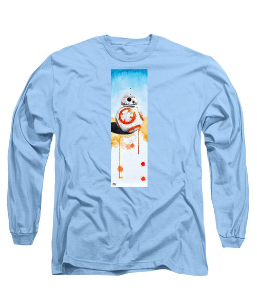 BB8 Long Sleeve T-Shirt by David Kraig