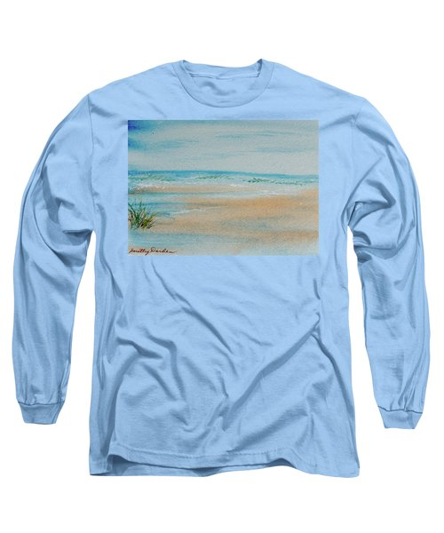 Beach At High Tide Long Sleeve T-Shirt