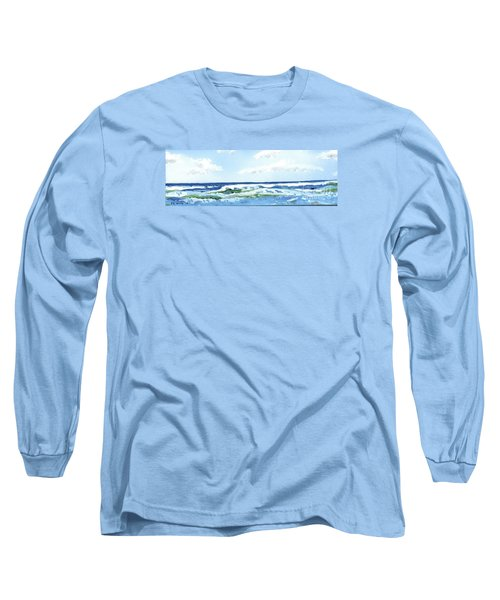 Beach At Isle Of Palms Long Sleeve T-Shirt