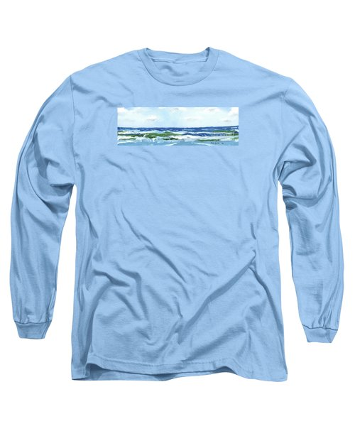 Beach At Isle Of Palms Two Long Sleeve T-Shirt