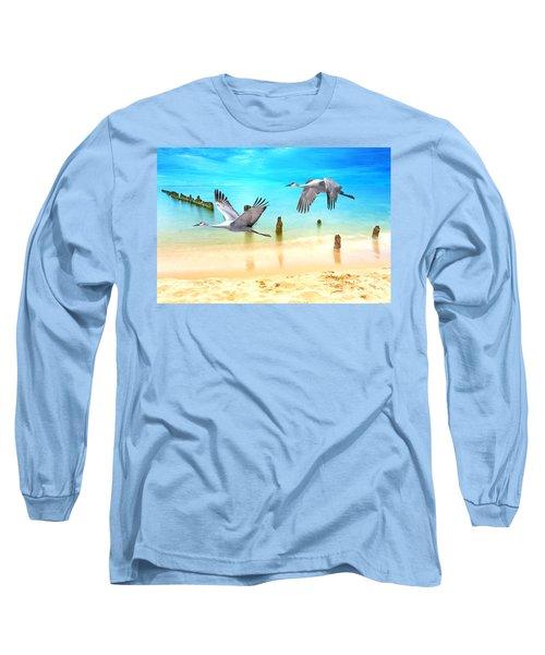 Beach Beauties Long Sleeve T-Shirt