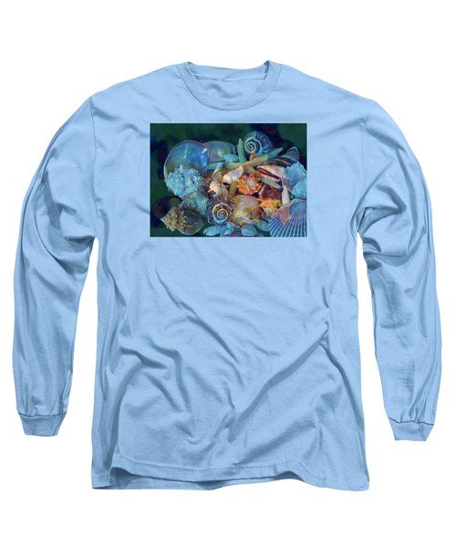 Beach Beauty 7 Long Sleeve T-Shirt by Lynda Lehmann