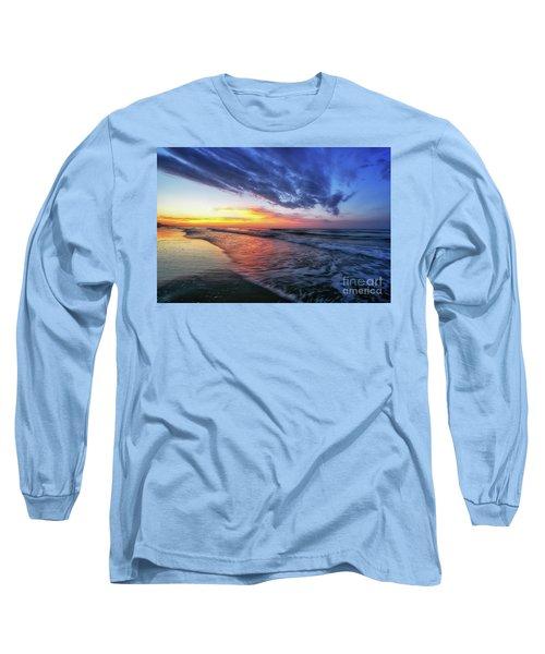 Beach Cove Sunrise Long Sleeve T-Shirt