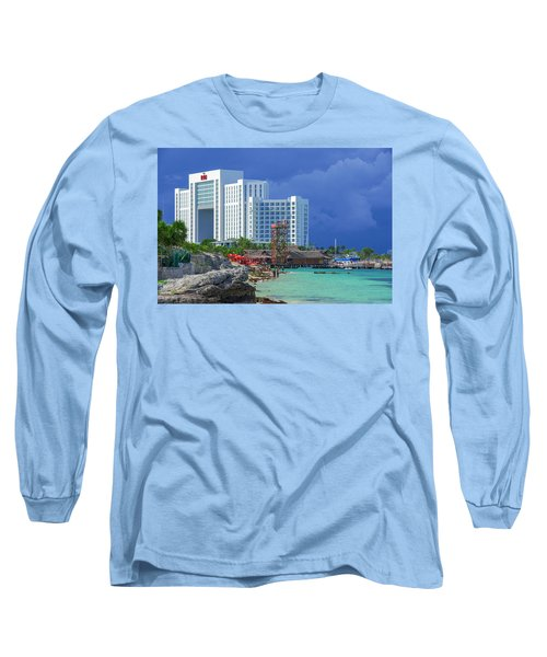 Beach Life In Cancun Long Sleeve T-Shirt